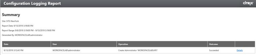 Configuration_Logging_Report