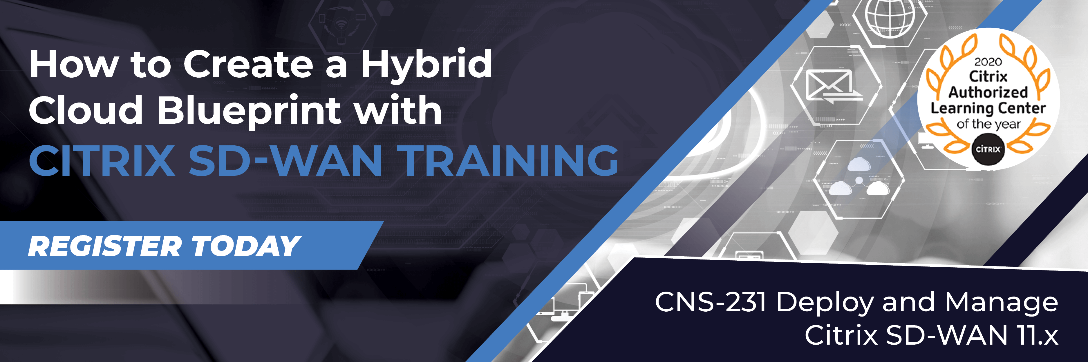 Create a Hybrid Cloud Blueprint with Citrix Training-SD-WAN